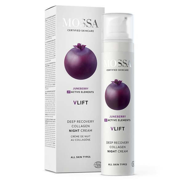 Mossa V-LIFT Deep Recovery Collagen Night Cream, 50 ml