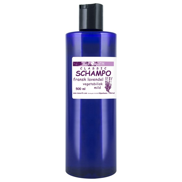 MacUrth Schampo Fransk Lavendel, 500 ml