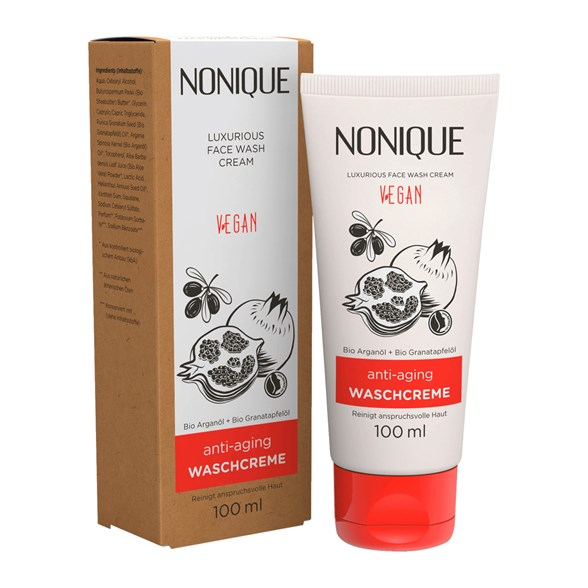 Nonique Anti-Aging Face Wash Cream, 100 ml
