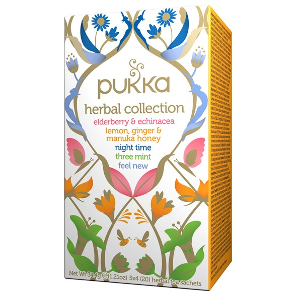 Pukka Herbs Örtte Herbal Collection, 20 påsar