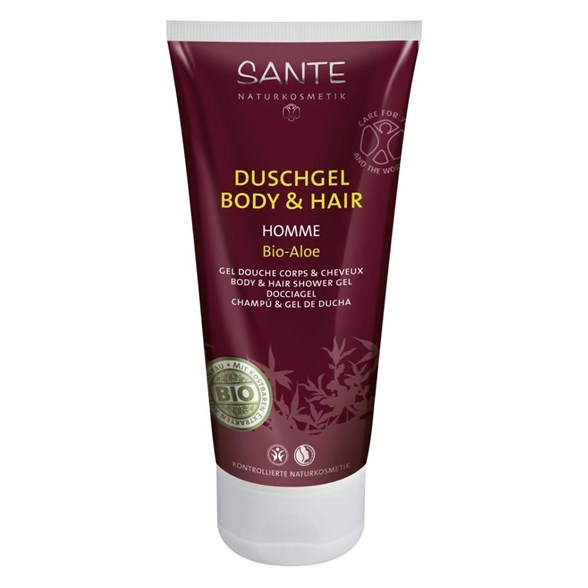 Sante Homme Body & Hair Shower Gel 2in1, 200 ml