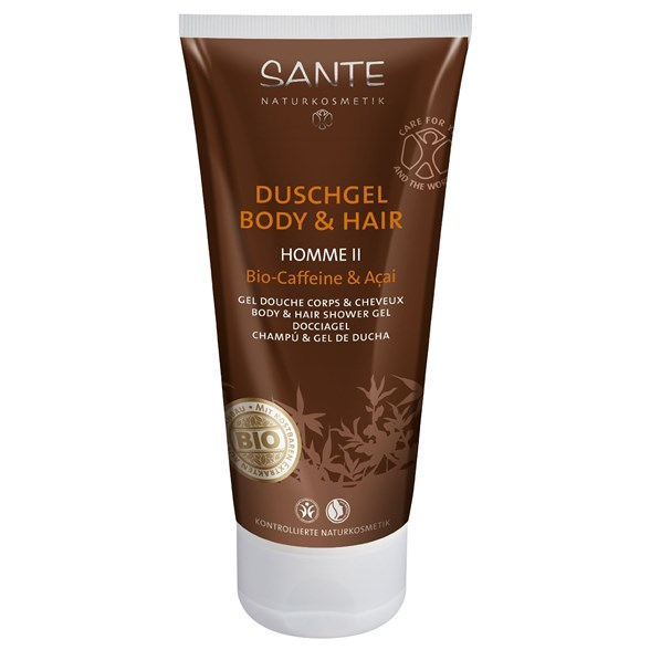 Sante Homme II Body & Hair Shower Gel, 200 ml