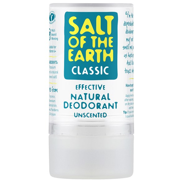 Salt of the Earth Crystal Classic Deodorant, 90 g