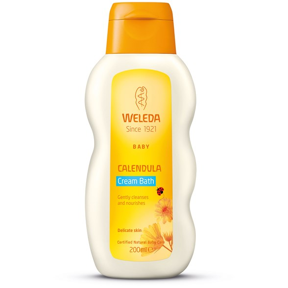 Weleda Calendula Cream Bath, 200 ml