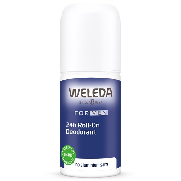 Weleda Men 24h Roll-On Deodorant, 50 ml