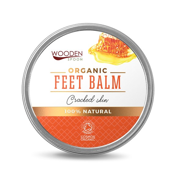 "Wooden Spoon Organic Feet Balm ""Cracked Skin"""