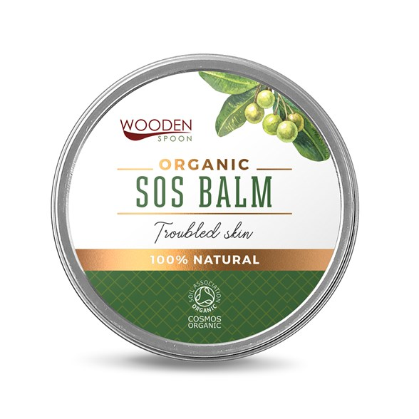 "Wooden Spoon Organic SOS Balm ""Troubled Skin"""