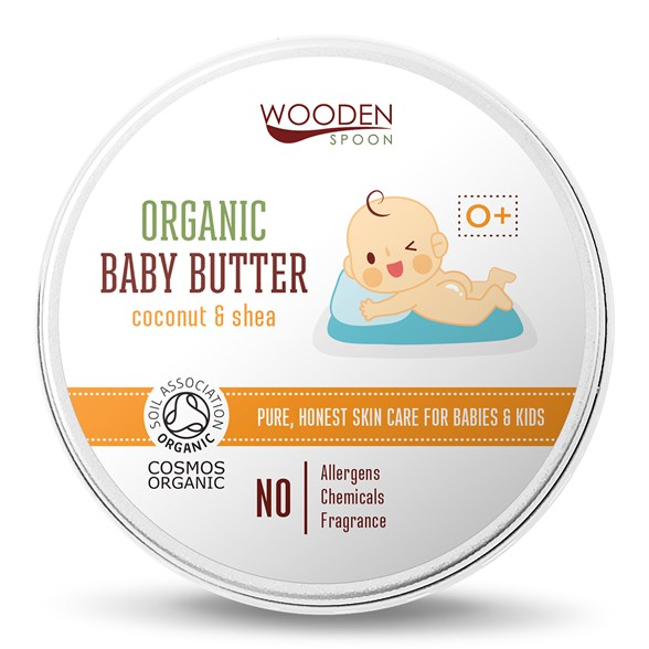 Wooden Spoon Organic Baby Butter Coconut & Shea, 100 ml
