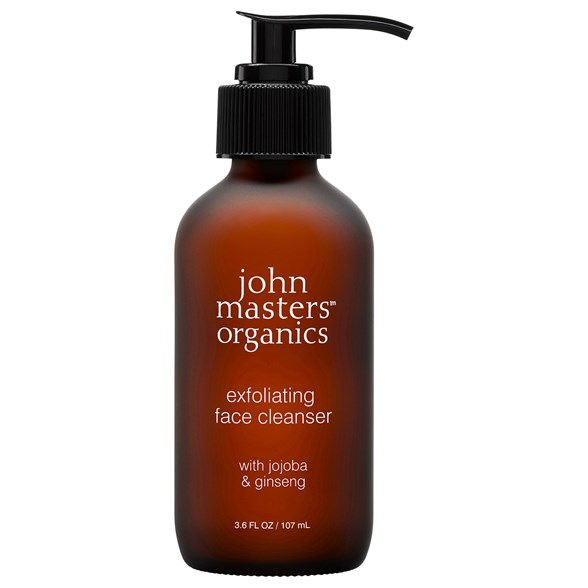 John Masters Organics Exfoliating Face Cleanser with Jojoba & Ginseng, 107 ml