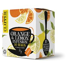 Clipper Örtte Orange & Lemon, 10 påsar