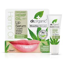 Dr. Organic Hemp Oil Lip Serum, 10 ml