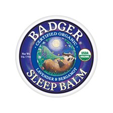 Badger Sleep Balm Lavender & Bergamot, 21 g