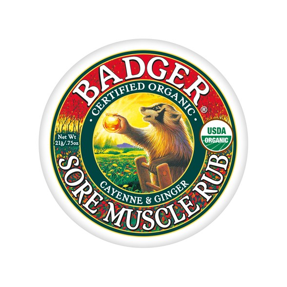 Badger Muscle Rub Cayenne & Ginger, 21 g