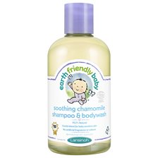 Earth Friendly Baby Soothing Chamomile Shampoo & Bodywash, 250 ml