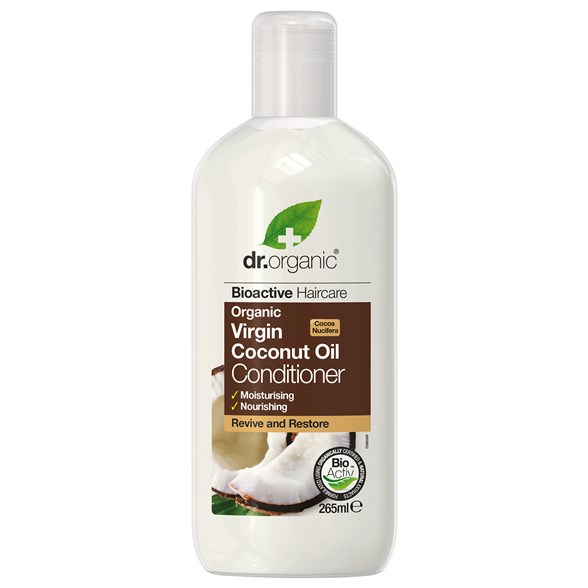 Dr. Organic Virgin Coconut Oil Conditioner, 265 ml