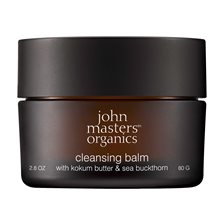 John Masters Organics Cleansing Balm with Kokum Butter & Sea Buckthorn, 80 g