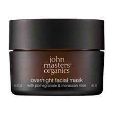 John Masters Organics Overnight Facial Mask with Pomegranate & Moroccan Rose, 93 g