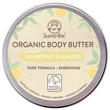 Suntribe Organic Body Butter Grapefruit & Almond, 150 ml