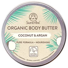 Suntribe Organic Body Butter Coconut & Argan, 150 ml