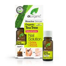 Dr. Organic Tea Tree Natural Action Nail Solution, 10 ml