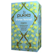 Pukka Herbs Örtte Three Fennel, 20 påsar
