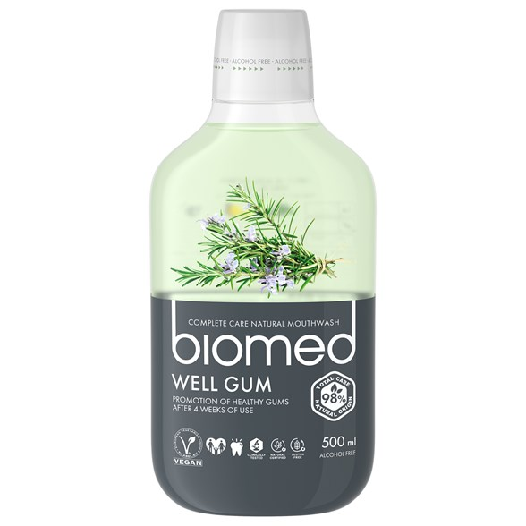 Biomed Well Gum Mouthwash, 500 ml