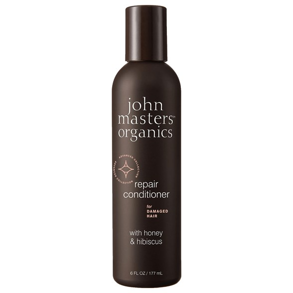 John Masters Organics Repair Conditioner for Damaged Hair with Honey & Hibiscus, 177 ml