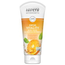 Lavera High Vitality Body Wash, 200 ml