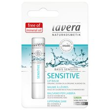 Lavera Basis Sensitiv Sensitive Lip Balm, 4,5 g