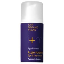 i+m Naturkosmetik Age Protect Eye Cream Rich Avocado Argan, 15 ml