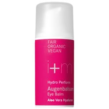 i+m Naturkosmetik Hydro Perform Eye Balm Aloe vera Hyaluron, 15 ml