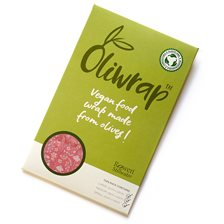 Rowen Stillwater Oliwrap Vegan Food Wrap Mixed Pack - Meadow Pink, 3 ark
