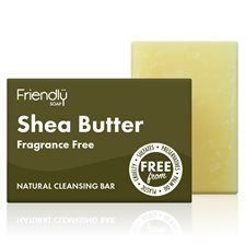 Friendly Soap Shea Butter Facial Cleansing Bar, 95 g