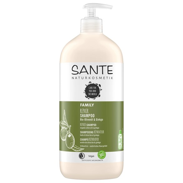 Sante Repair Shampoo Olive Oil & Ginkgo, 950 ml