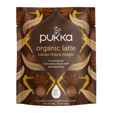 Pukka Herbs Ekologisk Lattemix Cacao Maca Magic, 90 g