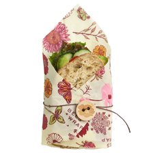 Bee's Wrap Veganskt Folie Sandwich Wrap - Meadow Magic
