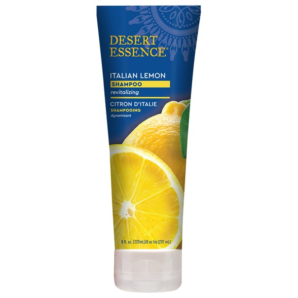Desert Essence Italian Lemon Shampoo, 237 ml