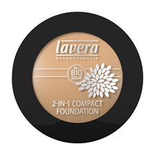 Lavera 2-in-1 Compact Foundation, 10 g
