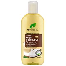 Dr. Organic Virgin Coconut Oil Shampoo, 265 ml