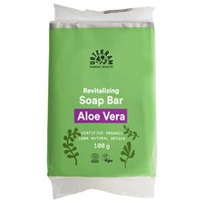 Urtekram Nordic Beauty Aloe Vera Soap Bar, 100 g