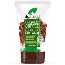 Dr. Organic Coffee Mint Face Wash, 125 ml