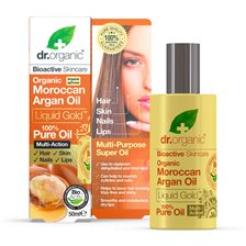 Dr. Organic Moroccan Argan Pure Oil, 50 ml