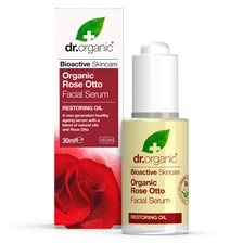Dr. Organic Rose Otto Facial Serum, 30 ml