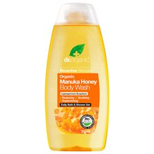 Dr. Organic Manuka Honey Body Wash, 250 ml