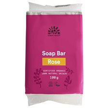 Urtekram Nordic Beauty Rose Soap Bar, 100 g