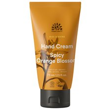 Urtekram Nordic Beauty Rise & Shine Hand Cream - Spicy Orange Blossom, 75 ml