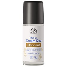 Urtekram Nordic Beauty Coconut Cream Deo Roll-on, 50 ml
