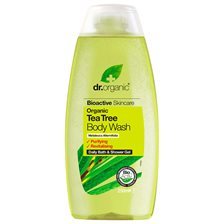 Dr. Organic Tea Tree Body Wash, 250 ml