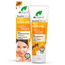 Dr. Organic Royal Jelly Light & Bright Cream, 125 ml