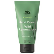 Urtekram Blown Away Hand Cream - Wild Lemongrass, 75 ml